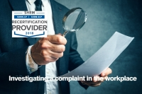 Investigating a complaint in the workplace