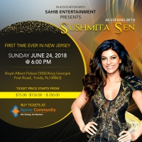 An Evening with Sushmita Sen in New Jersey