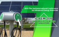 KEM--2019 The 2nd International Conference on Advanced Energy Materials (ICAEM 2019)--EI Compendex, Scopus