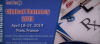 8th Edition of  EuroSciCon International Conference on Clinical Pharmacy 2019