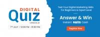 DBMI Digital Marketing Quiz 01 - Answer & Win Upto 5000 Rs. as Paytm cash