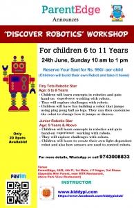 Discover Robotics Workshop