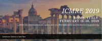 ACM--2019 5th International Conference on Mechatronics and Robotics Engineering (ICMRE 2019)--Ei Compendex and Scopus