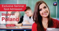 Exclusive Seminar & Spot Admission - 2018, Study in Poland