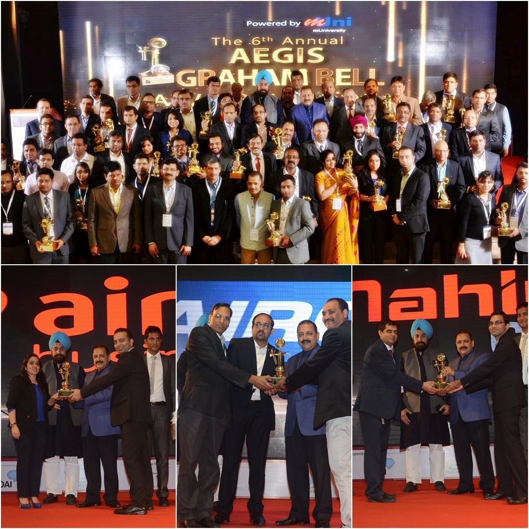 Aegis Graham Bell Award Telecom/Mobile Nominations, Mumbai, Maharashtra, India