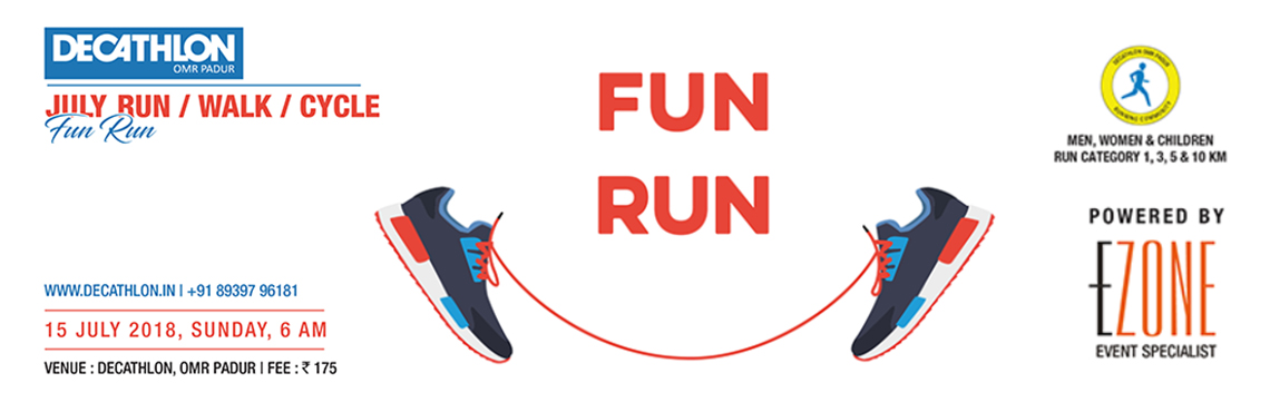 Decathlon Run Series - Fun Run, Chennai, Tamil Nadu, India