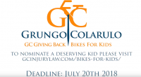 Grungo Colarulo Summer Bikes for Kids Giveaway