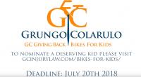 Grungo Colarulo Summer Bikes for Kids Giveaway