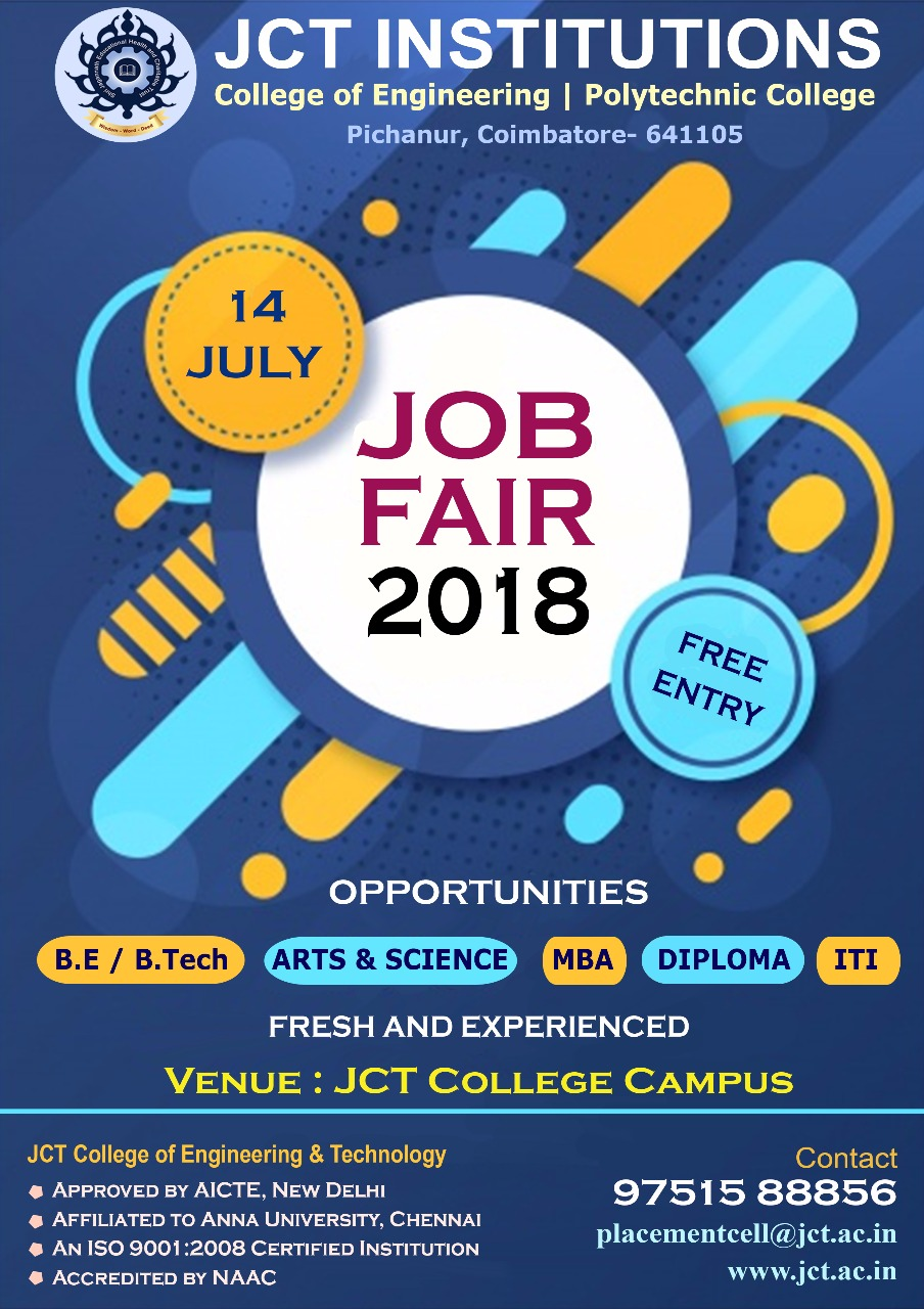 JOB FAIR'18, Coimbatore, Tamil Nadu, India
