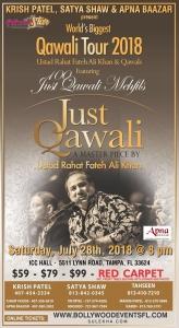 Rahat Fateh Ali Khan Live Concert 2018 in Tampa