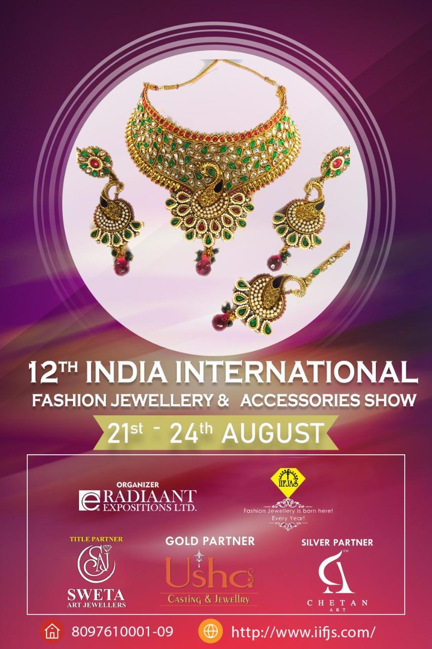 India International Fashion Jewellery & Accessories Show, Mumbai, Maharashtra, India