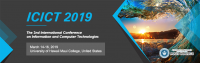 IEEE--2019 the 2nd International Conference on Information and Computer Technologies (ICICT 2019)--Ei & Scopus
