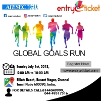 GLOBAL GOALS RUN 2018 | Entryeticket