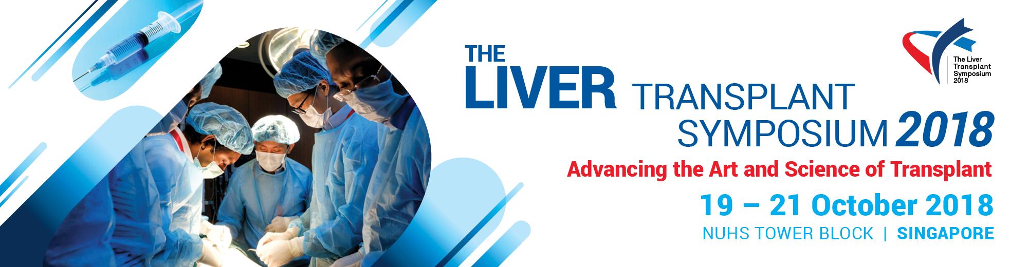 The Liver Transplant Symposium 2018, Singapore, South West, Singapore