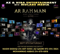 AR Rahman Live Concert 2018 in Dallas and 25 Glorious Years Of Music