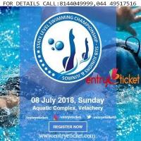 State Level Swimming Championship - Sub Juniors & Juniors | Entryeticket