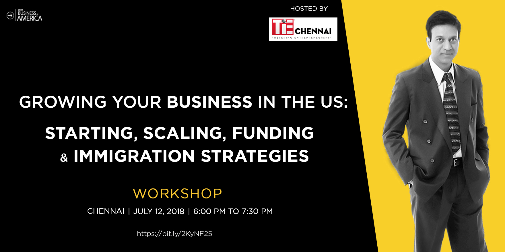 Growing Your Business In The US: Starting, Scaling & Funding Strategies, Chennai, Tamil Nadu, India