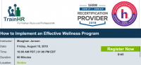 How to Implement an Effective Wellness Program