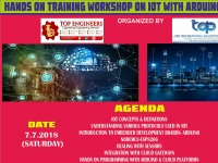 HANDS ON TRAINING WORKSHOP ON IOT WITH ARDUINO KIT (KIT-2018)