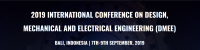 2019 International Conference on Design, Mechanical and Electrical Engineering (DMEE 2019)--EI Compendex and Scopus