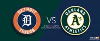 Oakland Athletics vs. Detroit Tigers at Oakland