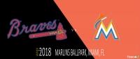 Atlanta Braves vs. Miami Marlins at Atlanta