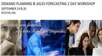 Demand Planning & Sales Forecasting 2 Day Workshop