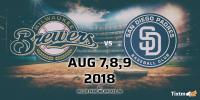 Milwaukee Brewers vs. San Diego Padres at Milwaukee