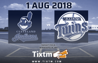 Minnesota Twins vs. Cleveland Indians at Minneapolis