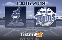 Minnesota Twins vs. Cleveland Indians at Minneapolis