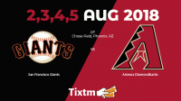 Arizona Diamondbacks vs. San Francisco Giants at Phoenix