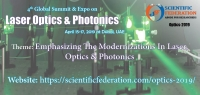 4th Global Summit & Expo on Laser Optics & Photonics