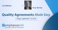 Quality Agreements Made Easy (Advanced 2018)