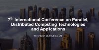 7th International Conference on Parallel, Distributed Computing Technologies and Applications (PDCTA 2018)