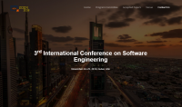 3rd International Conference on Software Engineering (SOEN-2018)