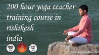 200 Hour yoga TTC in Rishikesh India