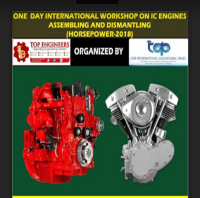 ONE DAY INTERNATIONAL WORKSHOP ON IC ENGINES ASSEMBLING AND DISMANTLING (HORSEPOWER-2018)