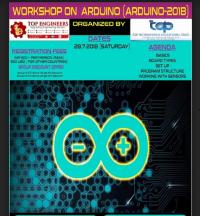 WORKSHOP ON ARDUINO (ARDUINO-2018)