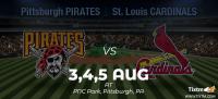 Pittsburgh Pirates vs. St. Louis Cardinals at Pittsburgh - Tixtm.com