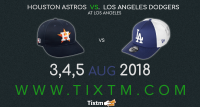 Los Angeles Dodgers vs. Houston Astros at Los Angeles – Tixtm.com