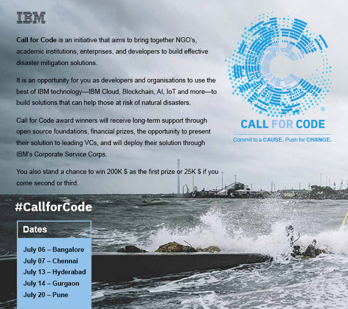 IBM Call for Code Days, Hyderabad, Telangana, India