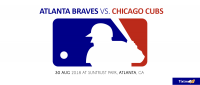 Atlanta Braves vs. Chicago Cubs at Atlanta