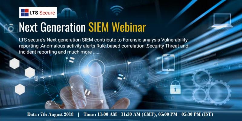 Online Webinart on Next Generation SIEM, Pune, Maharashtra, India