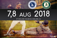 Oakland Athletics vs. Los Angeles Dodgers at Oakland