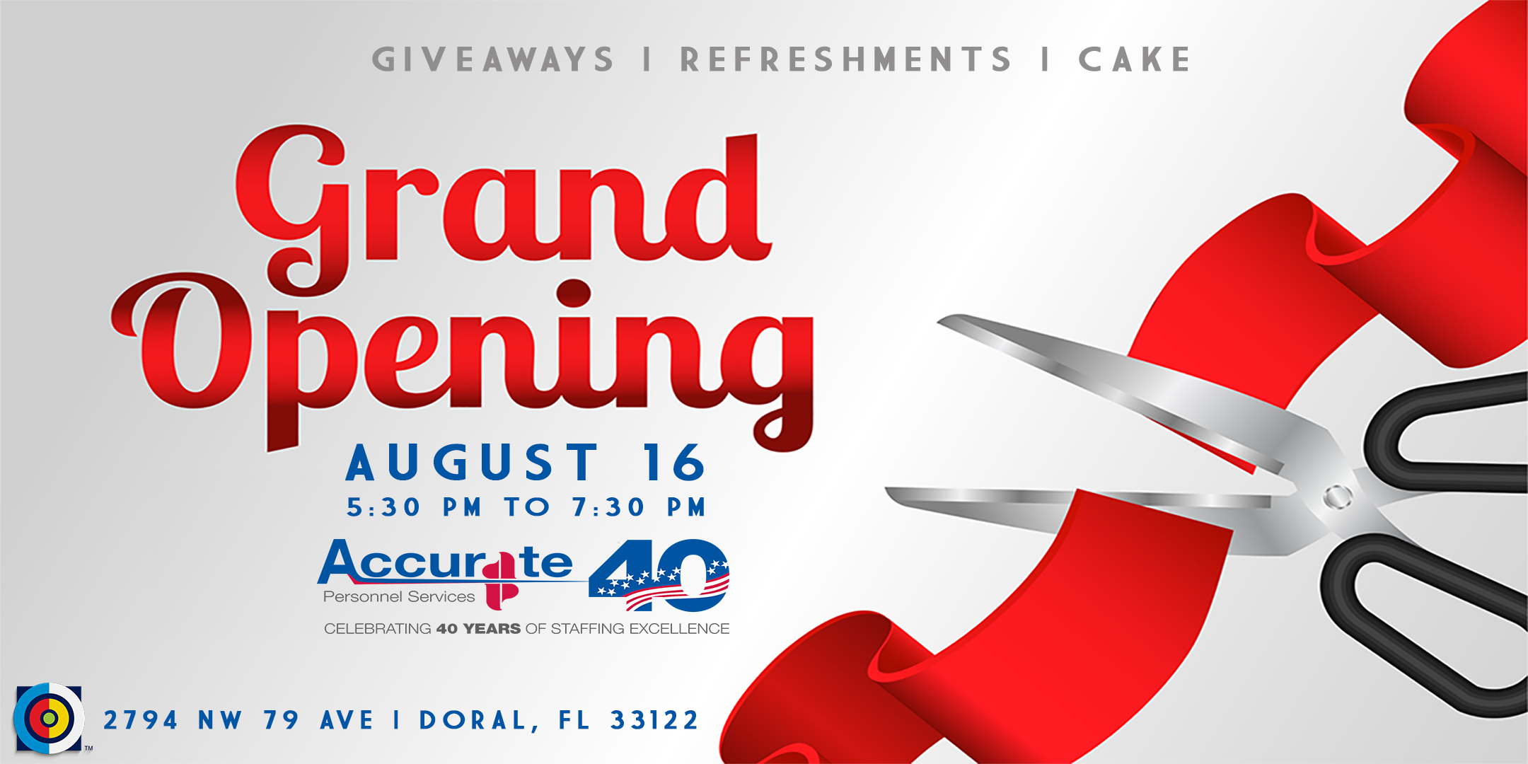 Grand Opening Accurate Personnel in Doral, Miami-Dade, Florida, United States