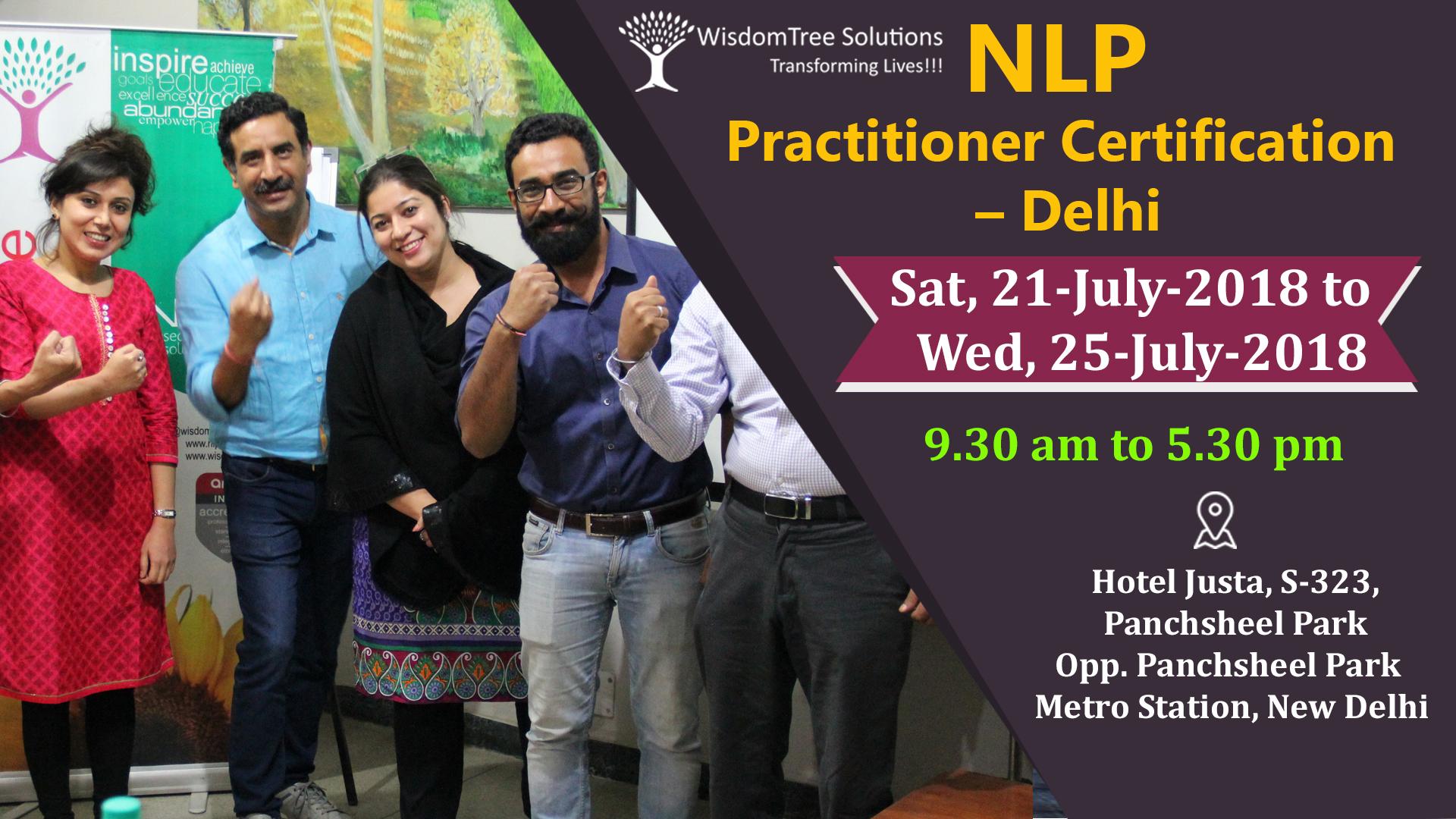 NLP Practitioner Certification by Sushil Mehrotra in Delhi ...
