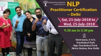 NLP Practitioner Certification by Sushil Mehrotra in Delhi
