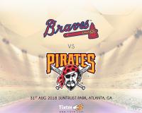 Atlanta Braves vs. Pittsburgh Pirates at Atlanta