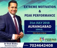Bounce Back Series By Dr. Vivek Bindra In Aurangabad