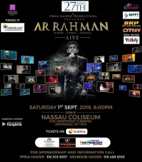 AR Rahman Live Concert 2018 in New York